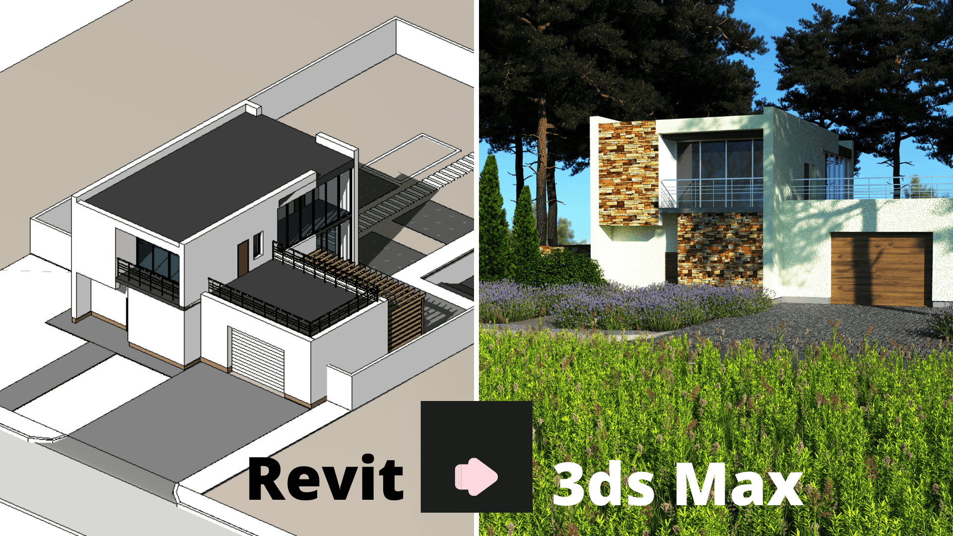 Autodesk Revit + 3 ds Max в ландшафтном дизайне